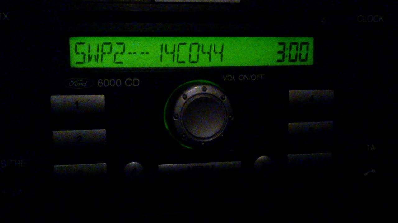 ford 6000 cd пишет locked