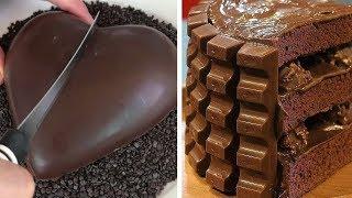Top 15 Amazing Chocolate Cakes Decorating Techniques 🎂 How To Make a Chocolate Cake Decorating