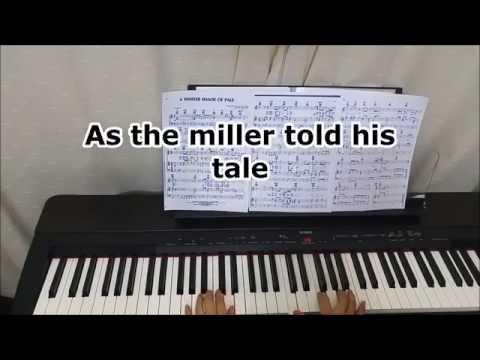 Piano - Procol Harum - Whiter Shade of Pale wih lyrics