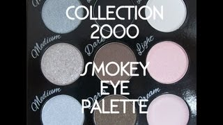 collection 2000 smokey eye palette