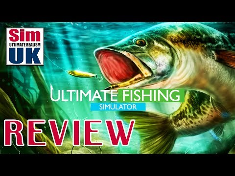 Best Fishing Sim EVER? | Ultimate Fishing Simulator Review By Sim UK