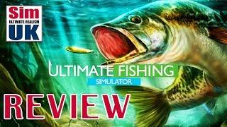 Best Fishing Sim EVER?   Ultimate Fishing Simulator Review by Sim UK