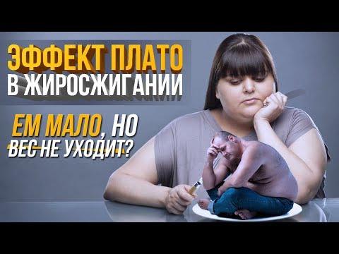 Почему вес стоит на месте? ЭФФЕКТ ПЛАТО