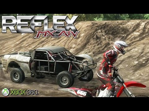 MX Vs. ATV Reflex  - Xbox 360 / Ps3 Gameplay (2009)