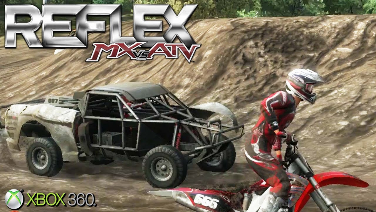 mx vs atv reflex xbox 360 ps3 gameplay 2009 youtube. Black Bedroom Furniture Sets. Home Design Ideas