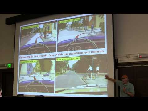 "Dr. John Pucher: ""How to Increase Cycling and Walking: Lessons from Cities across the Globe"""