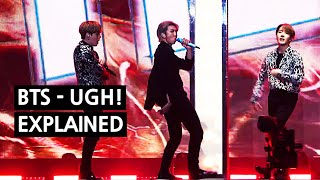 BTS - 욱 UGH! Explained by a Korean