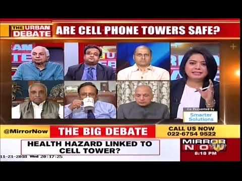 Mr. Rajan S Mathews, DG COAI On The The Urban Debate On Mobile Towers | Mirror NOW