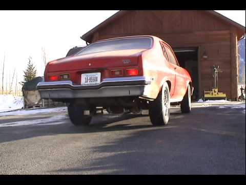 74 Nova Exhaust With 3in Pypes Xpipes And Race Pro Mufflers