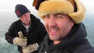 LAKE SIMCOE ICE FISHING ICE REPORT JAN,12, 2019