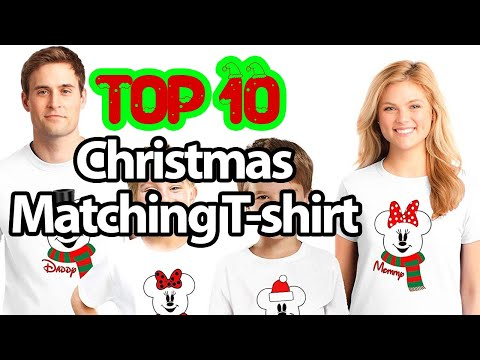 Best Matching Family Shirts for Christmas [Top 10 2020]