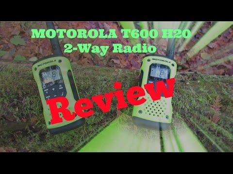 Motorola T600 H2O Radio Review