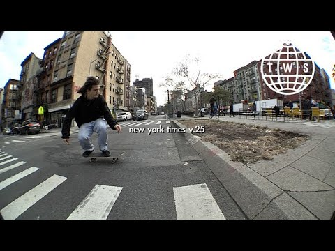 New York Times v.25 | TransWorld SKATEboarding