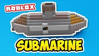 HUGE SUBMARINE - Roblox Build a Boat for Treasure