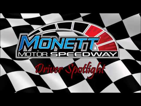 Monett Motor Speedway Driver Spotlight, Justin Gantt #4 FWD/Ministock