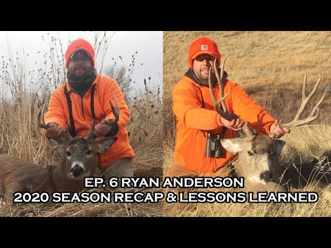 Going 4 Broke Outdoors Podcast: Episode 6 - Ryan Anderson - 2020 Season Recap & Lessons Learned