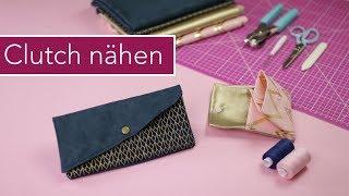 DAS ALLERERSTE NÄHPROJEKT: Clutch & Portemonnaie nähen für Anfänger