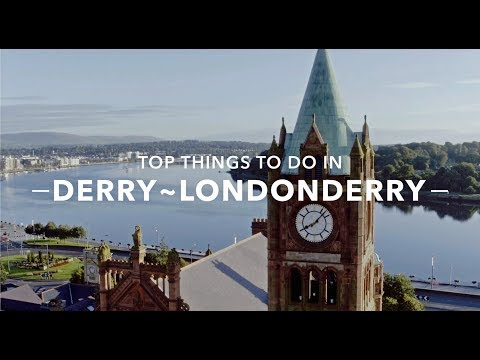 Top things to do in Derry~Londonderry