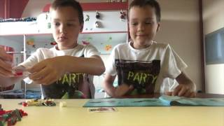FIRE TRUCK - LEGO set 7942 - Time-lapse Build, unboxing & review!