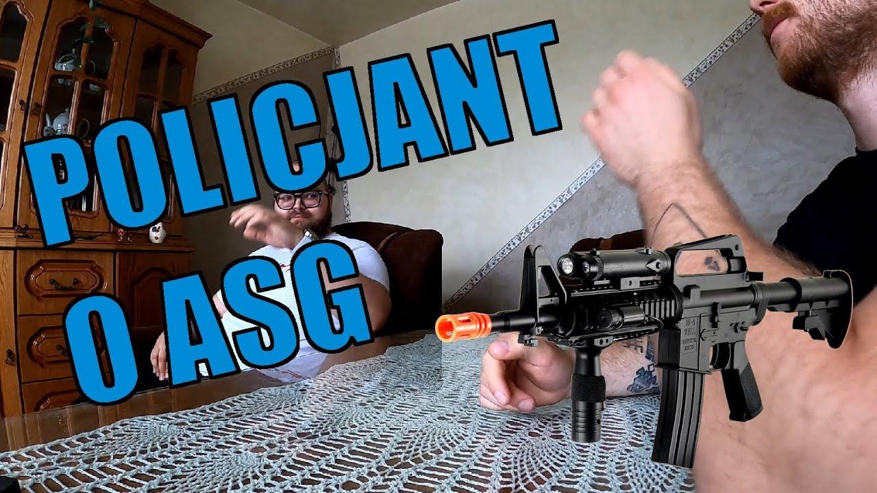 500+ u Sierżanta Bagiety - Co POLICJANT myśli o ASG?