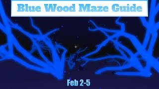 Blue Wood Maze Guide Fed 2-5 ( Lumber Tycoon 2) Roblox