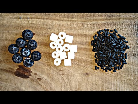 Unboxing Activated Carbon, Ceramic Rings And Bio Balls From Amazon