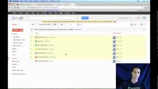 Google Drive Tutorial 2013 - Document Organization (4/6)