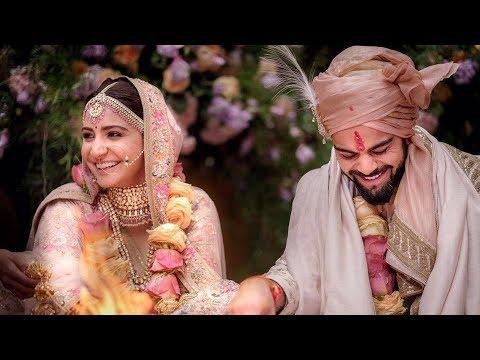 Mere Rashke Qamar Virat Kohli And Anushka Sharma Marriage Video