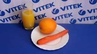 Рецепт приготовления морковно-апельсинового смузи в блендере VITEK VT-3400 BW
