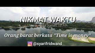 Ceramah 1 Menit UAS Nikmat waktu Ustadz Abdul Somad Lc MA