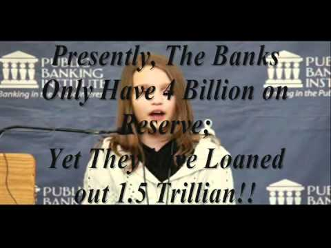 A Canadian 12 Year Old Gets The World Banking System ; So Why Don't You? { Victoria Grant }