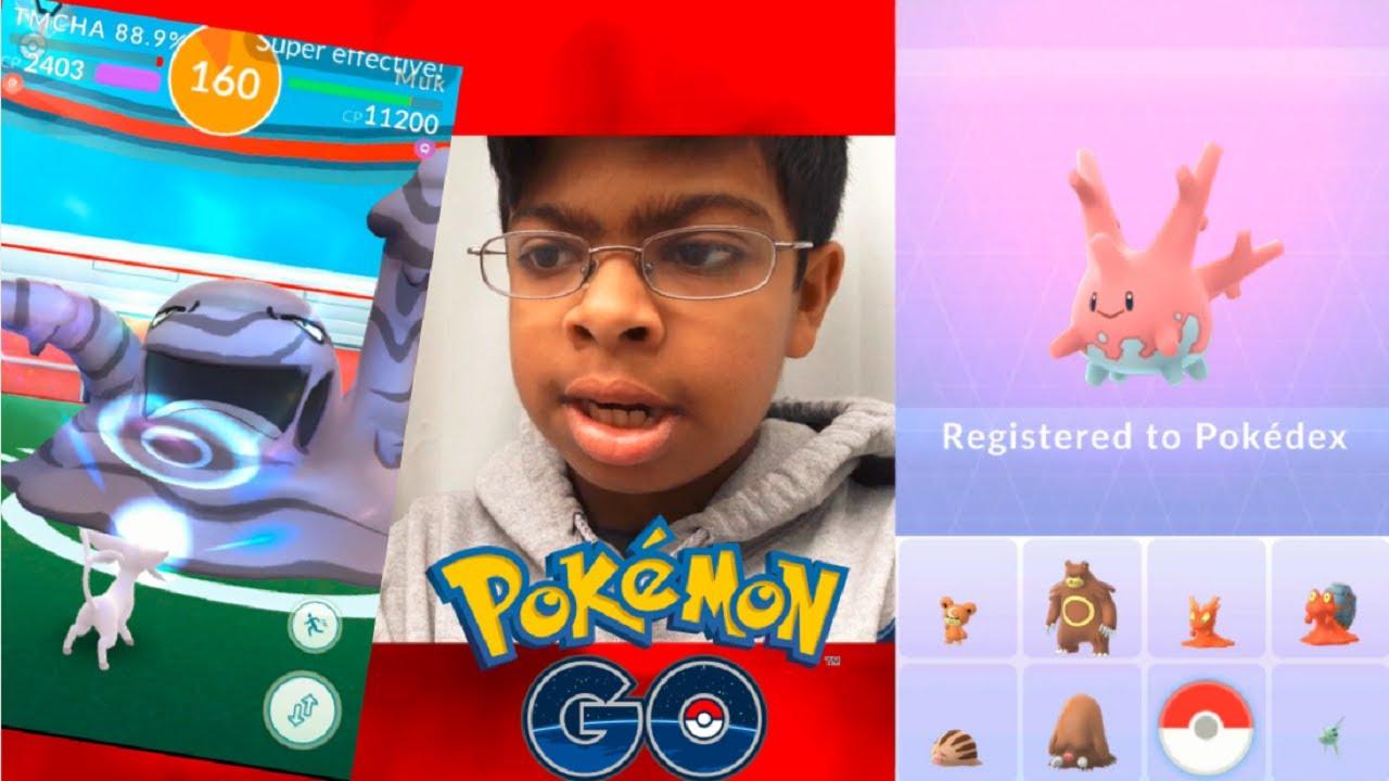 how to get corsola pokemon go