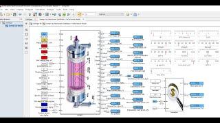 Sweep Gas Membrane Distillation   Desalination   Performance Model   Matlab   Simulink Model