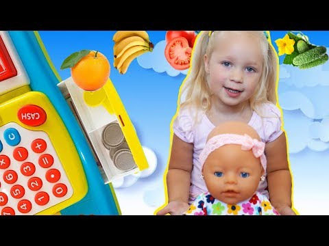 Bad Kid Shopping at Toy Store IRL Learn Colors with Baby Songs Nursery Rhymes for children