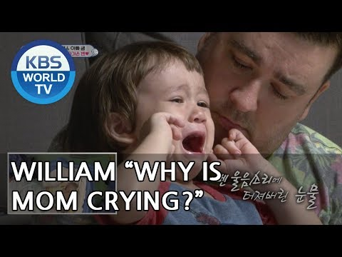 """William """"Take me to mom""""  [The Return of Superman/2018.12.09]"""