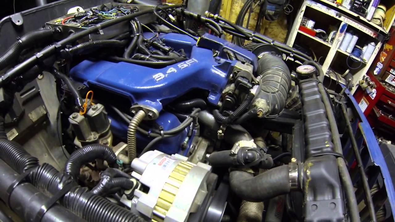 Gm 3 4 Sfi Camero V6 Rough Idle Only When Cold