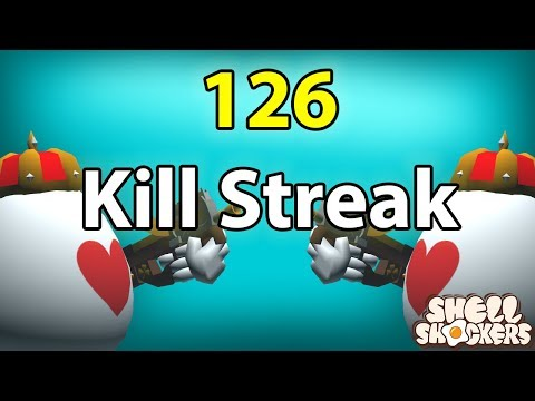 126 Kill Streak! | Shell Shockers