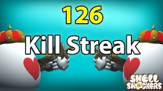 126 Kill Streak! | Shell Shockers
