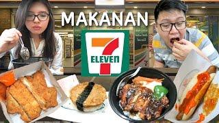 Dinner Di SEVEN ELEVEN !! Ternyata Enak !!