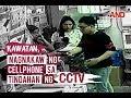 Kawatan, nagnakaw ng cellphone sa tindahan ng CCTV