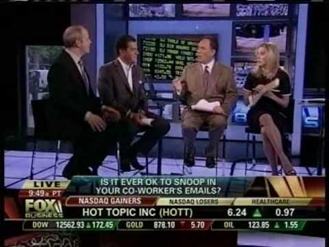 E-Mail Snooping: The Ethics Guy  vs. Cheryl Casone on FOX Business