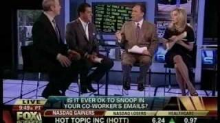 E-Mail Snooping: The Ethics Guy  vs. Cheryl Casone on FOX Business