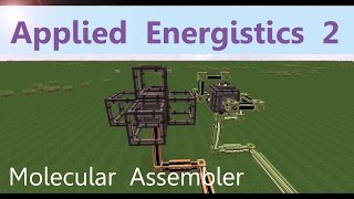 Applied Energistics 2 Tutorial: Molecular Assembler [English]