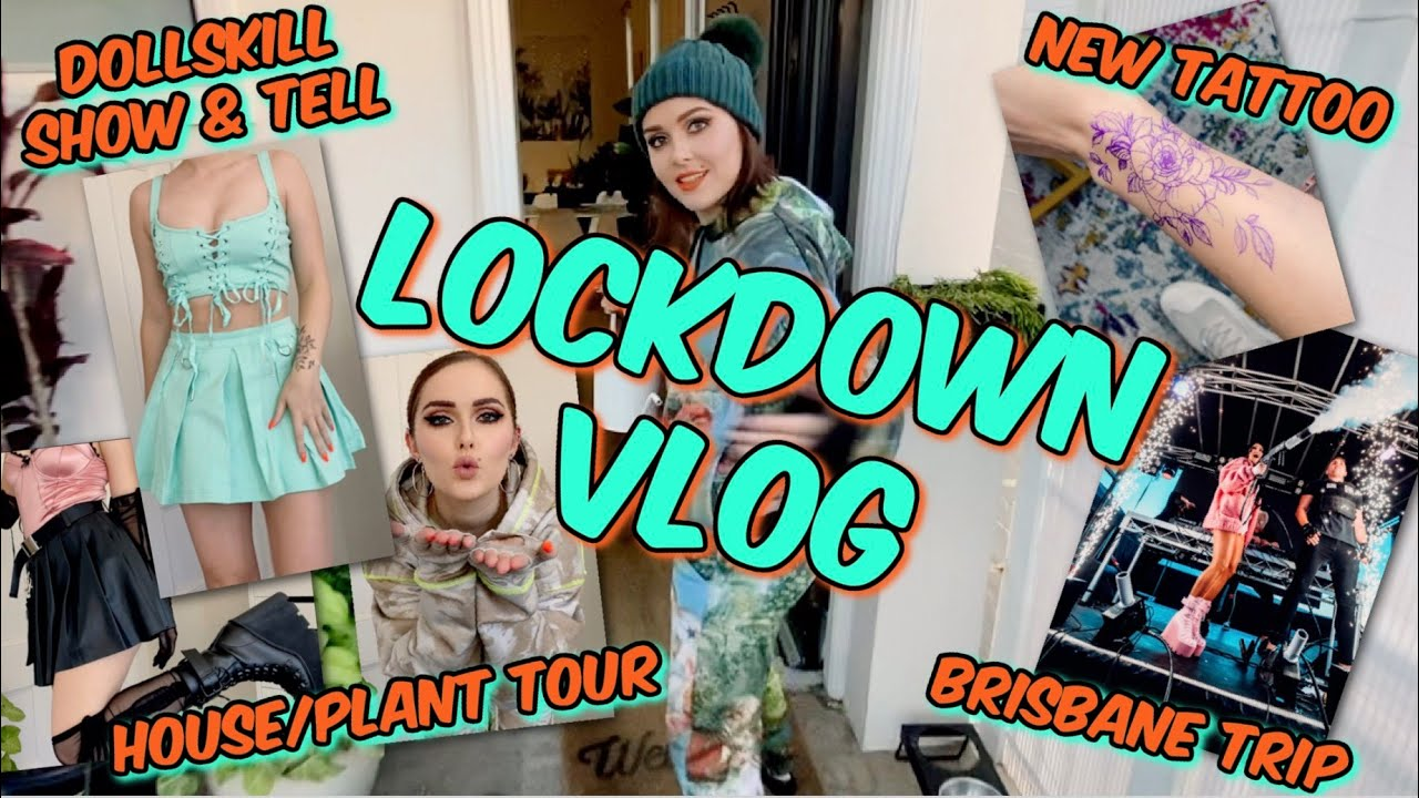VLOG - Dolls Kill S&T   Brisbane Trip   House/Plant Tour