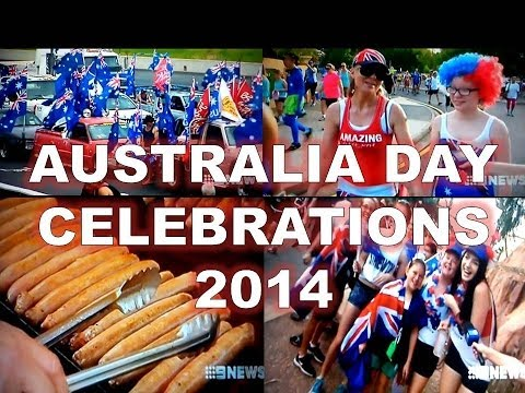 How Aussie's Celebrated Australia Day 2014