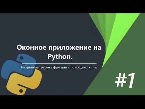 Оконное приложение на Python C Tkinter   #1
