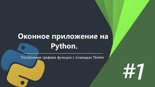 Оконное приложение на Python c Tkinter | #1