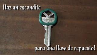 Como hacer un escondite para una llave de repuesto