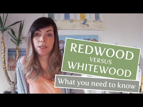 Whitewood vs Redwood: What timber should I look for in a shed
