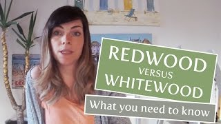 What is the best wood for a Shed? Whitewood vs Redwood.